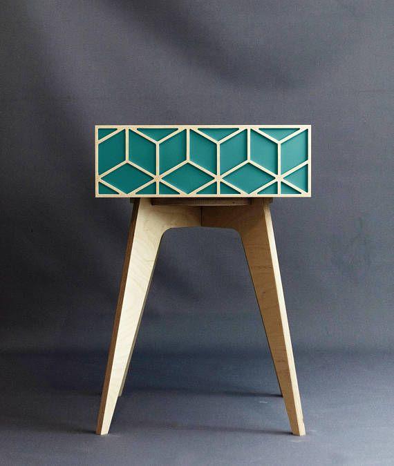 Turquoise nightstand turquoise furniture blue nightstand
