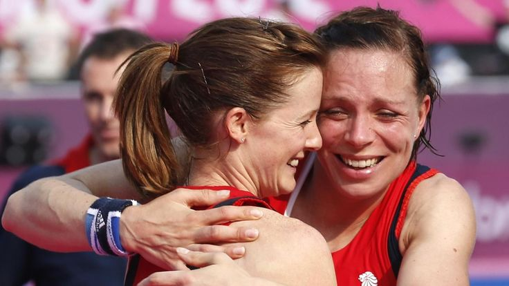 Team GB hockey players compete in their first Olympics as a married couple