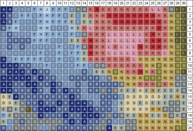 Turn any image into a pixelated quilt pattern! Don't stop there, use it as a guide for cross stitching and more!