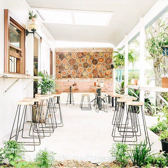 Grab coffee and delish food. New cafe Folk Byron Bay is serving up the organic, local good stuff! This is the perfect post or pre-party meeting spot!