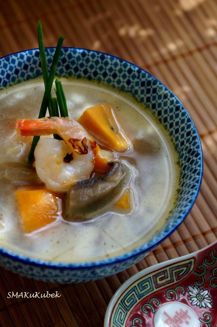 SMAKuKubek: Zupa kokosowa Tom Kha