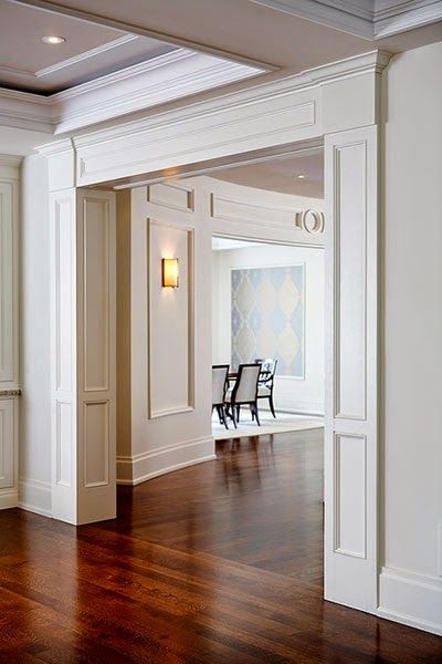 Crown molding can add a lot to the simplest of rooms, but what about shoe molding? In our apartment the shoe molding is stained to match th...