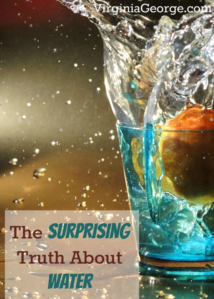 The Surprising Truth About Water   Virginia George