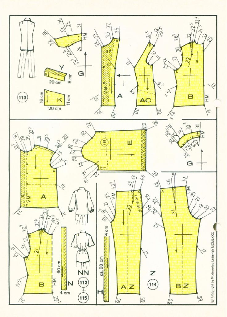 Vintage Sewing Patterns 159 winter 1980  Patternmaking