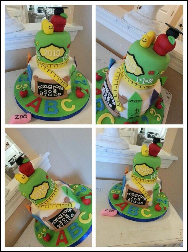 Preschool Graduation Cake  on Cake Central