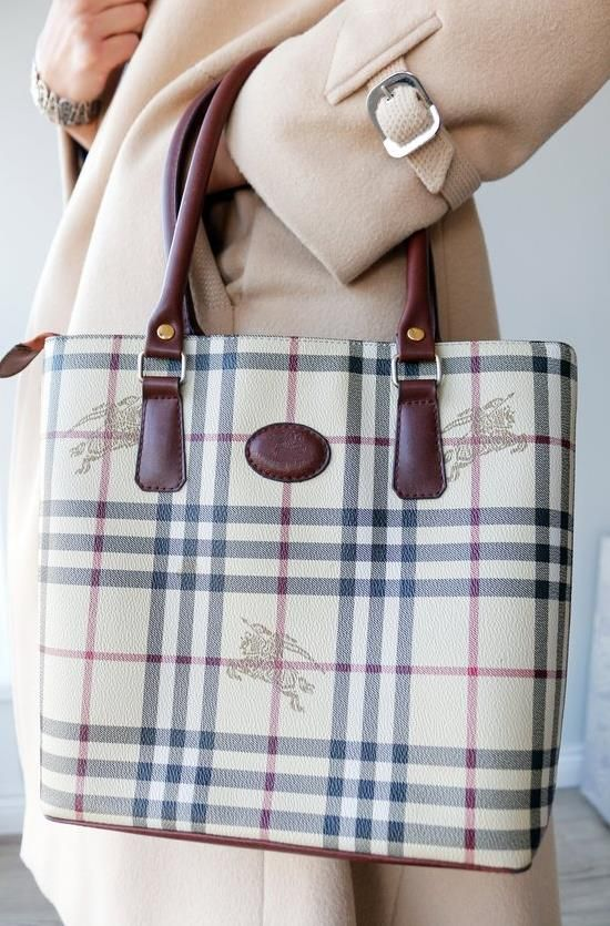 161213fbdc6cf burberry vintage handtasche burberrys beige kariert