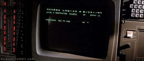 scipunk: SP. A very old computer. Lifeforce (1985)...
