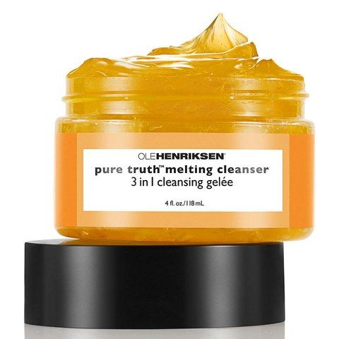 Ole Henriksen Pure Truth Melting Cleanser (118ml) This stuff is really awful. It feels ok going on but you don't get any warmth like other oil cleansers and you do not feel like anything is happening. After rinsing generously my face felt greasy so I followed with a toner which showed that there was still a lot of makeup left on my face. I tried this three separate times all with the same result. Yuck.