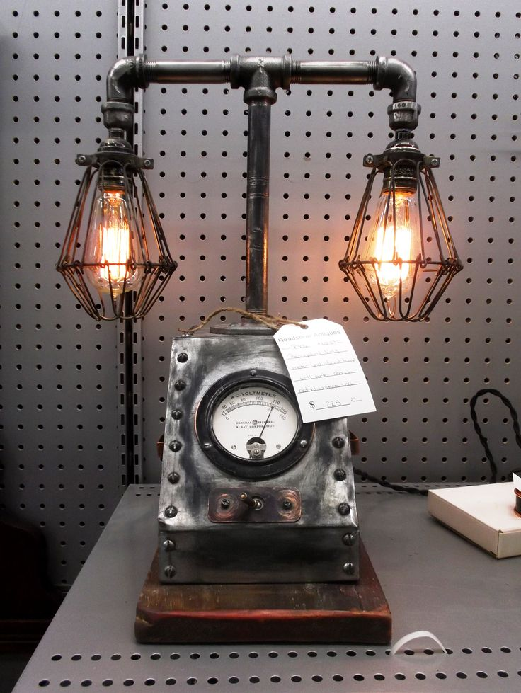 P306 always has the most unique and cool industrial lamps and accessories. This re-purposed volt metre still works as you turn on the lights. $225.00.  1400 Squires Beach Road, Pickering, ON L1W 4B9. 905) 427-7902. www.roadshowantiquespickering.com
