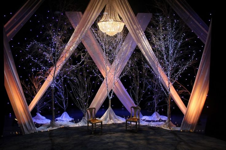 Design Ideas: Gorgeous Stage Backdrop Ideas 84 Christmas Stage Backdrop Ideas Pipe And Drape Stage: Stage Backdrop Ideas Photo