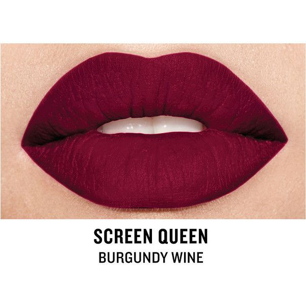 Smashbox Be Legendary Cream Lipstick, Screen Queen Matte 1 ea ($21) ❤ liked on Polyvore featuring beauty products, makeup, lip makeup, lipstick, beauty, smashbox lipstick and smashbox