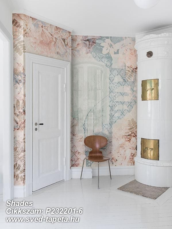 A gorgeous rose terrace with a staircase to ... someone you love? ☞ #wall #decor #wallpaper #design #tapeta #foto #poster