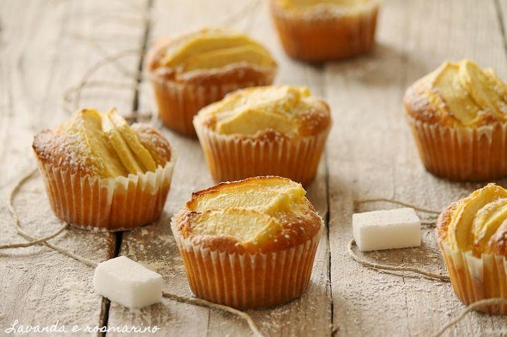 Lavanda e rosmarino: Muffin con le mele
