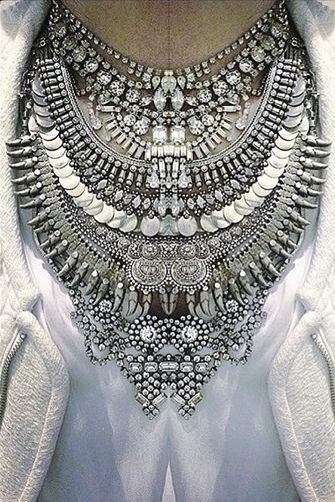 Ethnic Silver Necklaces - Joelle Magazine