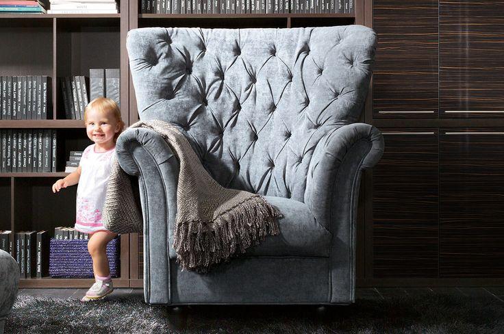 Cupido #dom #home #design #wnetrze #salon #elegant #sofa #fotel #armchair #livingroom #modern #interior #inspiration
