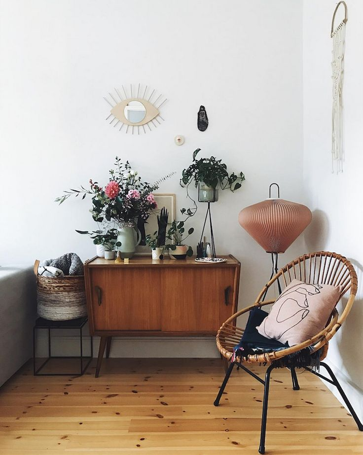 my scandinavian home: A Relaxed Cologne Home with Mid-Century Vibes. Photo Antonia Schmidt.
