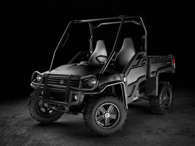 John Deere Release their First All Black Auto, the Gator Utility Vehicle   Photo