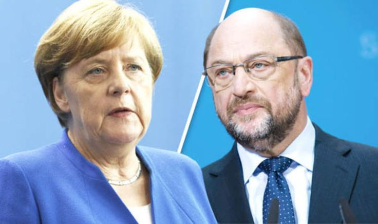 German election 2017 polls: Angela Merkel v Martin Schulz  latest poll tracker