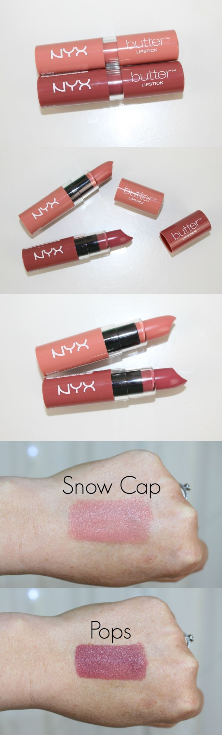 NYX Butter Lipstick Review & Photos