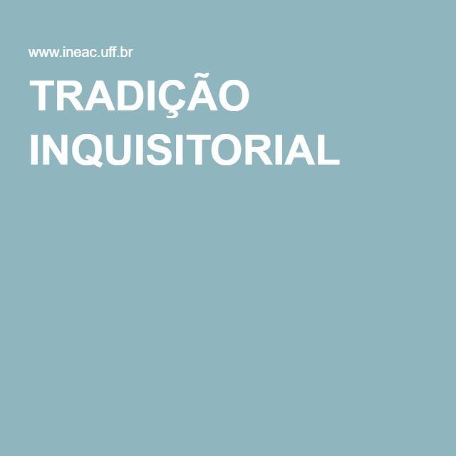 """""""TRADIÇÃO INQUISITORIAL - ESSE 'ETHOS' CONTINUA A NORTEAR, LEGALMENTE, TODOS OS ATOS ADMINISTRATIVOS E PROCESSUAIS, TANTO NAS INSTÂNCIAS INFERIORES, COMO NAS INSTÂNCIAS SUPERIORES DO JUDICIÁRIO""""   O Pró-reitor de Pesquisa, Pós-Graduação e Inovação (PROPPI), Roberto Kant de Lima, escreveu para o jornal O Globo sobre as características inquisitoriais do processo penal no Brasil, herdadas de nossas tradições religiosas e seculares."""