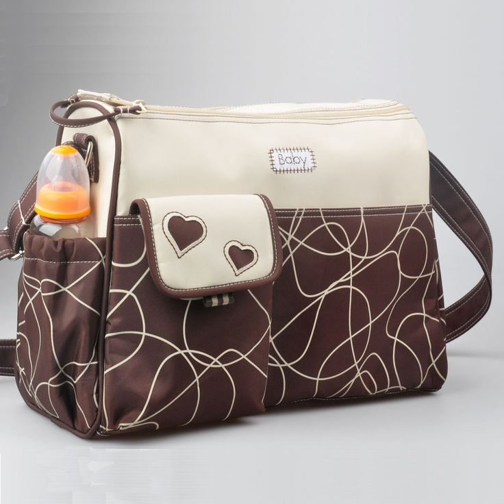 Allis Baby Changing Bag Nappy Diaper Bag 3PCS Insulated Brown in Baby, Baby Changing & Nappies, Nappy Changing Bags | eBay