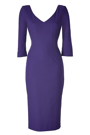L'Wren Scott dress. Work to dinner attire  UH HUH AND WILDCAT BLUE TOO! CAN'T GO WRONG!