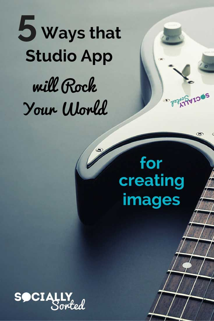 5 Ways Studio App Will Rock Your World of Image Creation - check out this awesome smartphone app for creating visuals.