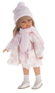 "Antonio Juan 13"" Emily Winter - All Vinyl Jointed  Doll with Blue Eyes & Blonde Hair (Made in Spain)"