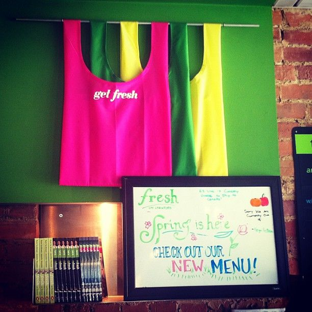 Come in to any of our locations and check out our fresh new menu! #vegetarian #fresh #toronto #healthy