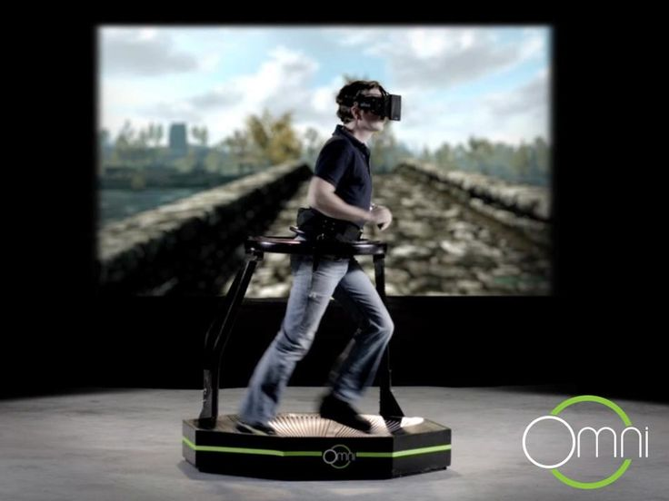 The Omni enables you to move naturally and freely in virtual worlds. Get fully immersed in your favorite game!