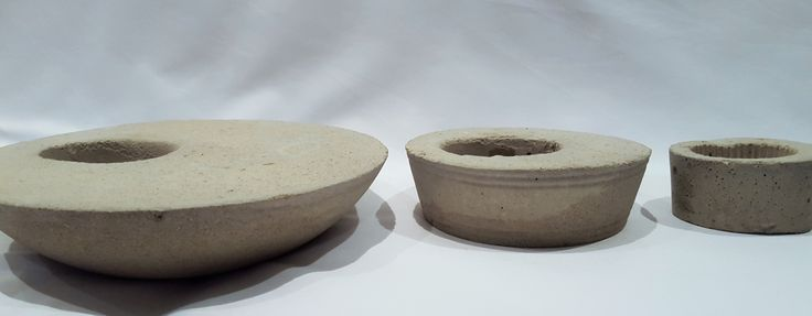 concrete pots, perfect for succulents