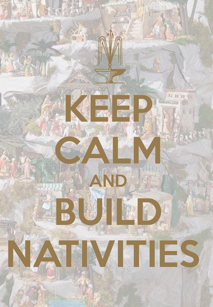 This holiday season.... @Fontanini by Roman, Inc. #KeepCalm #Buildnativities