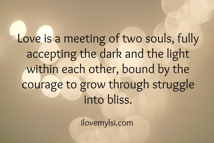 Love is a meeting of two souls. » Love, Sex, Intelligence #love #relationship #quote