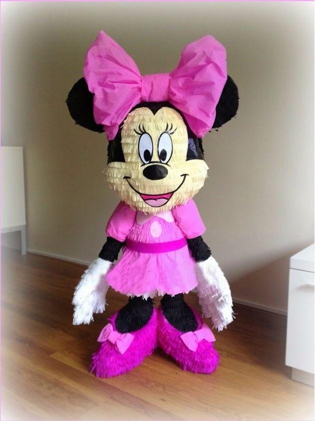 Piñata Minnie Mouse. Costa Rica. xeniaotoya@yahoo.com Tel(506)8387-1529