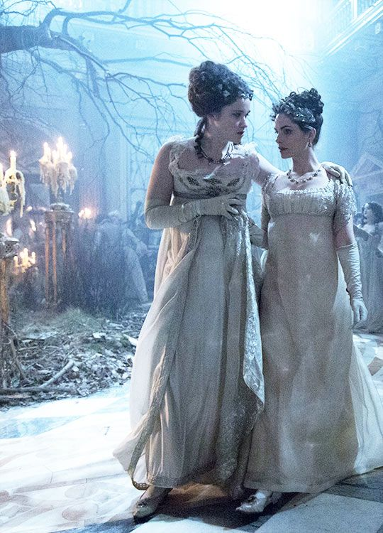 Alice Englert & Charlotte Riley in the adaptation of 'Jonathan Strange & Mr Norrell' (2015)