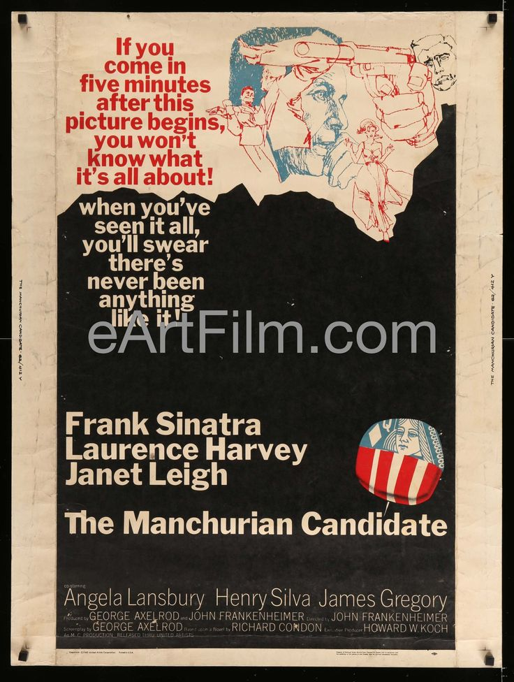 Happy Birthday #JanetLeigh https://eartfilm.com/search?q=janet+leigh #actors #acting #movie #movies #poster #posters #film #cinema #movieposter #movieposters    Manchurian Candidate-Frank Sinatra-Janet Leigh-Angela Lansbury-30x40