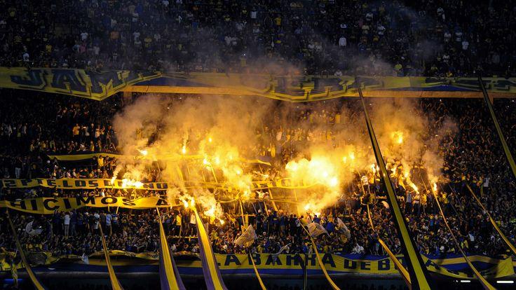 La gloriosa 12. Hinchada de Boca Juniors.