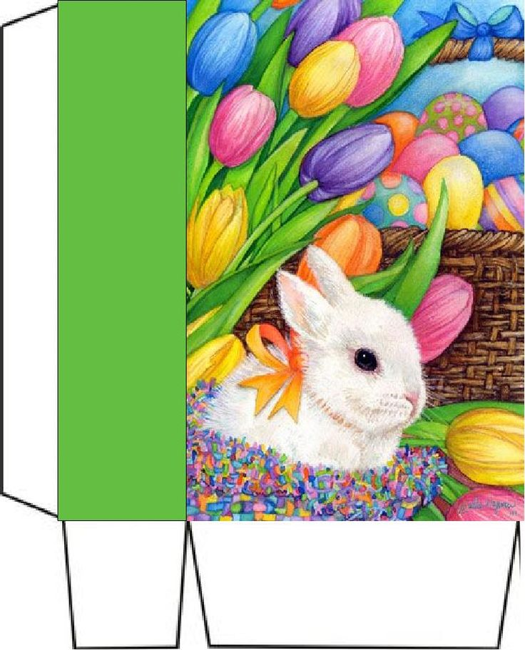 231 best easter bagsboxes envelopes images on pinterest boxes bunny eggs and tulips x2 bag negle Choice Image