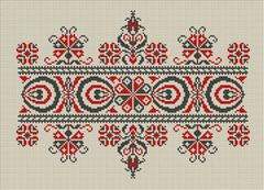 Lmntl Crafts - Hungarian cross stitch