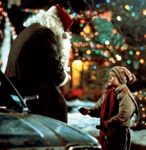 Culkin and former Second City actor Ken Hudson Campbell, who played a smoking Santa for hire.
