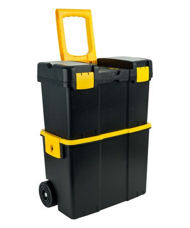 Loving this Stackable Mobile Wheeled Tool Box on #zulily! #zulilyfinds