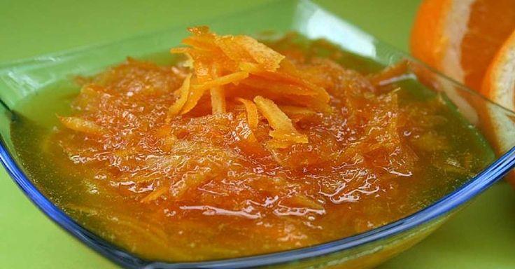 Domácí pomerančová marmeláda ze 3 surovin