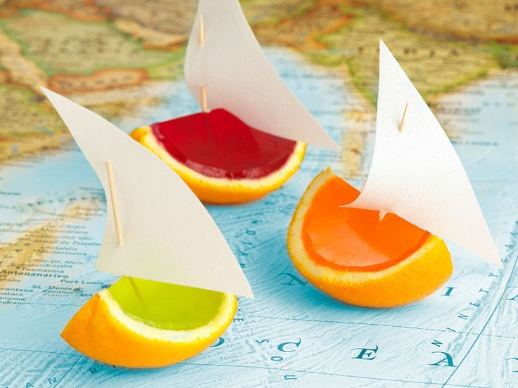 These jelly boats are one of the most popular party foods that I make. Everyone is intrigued to find out how they are made and even the sails are edible!