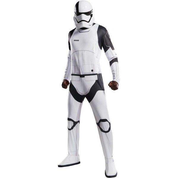 Star Wars Episode VIII - The Last Jedi Adult Executioner Trooper... ($45) ❤ liked on Polyvore featuring costumes, halloween costumes, sports halloween costumes, star wars costumes, adult costumes, adult star wars costume and sport costumes
