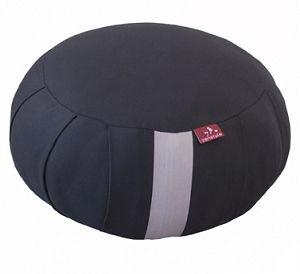 Zafu Antracyt- japońska poduszka do siedzenia. Ręcznie wypełniona naturalnym, miękkim włóknem kapokowym.