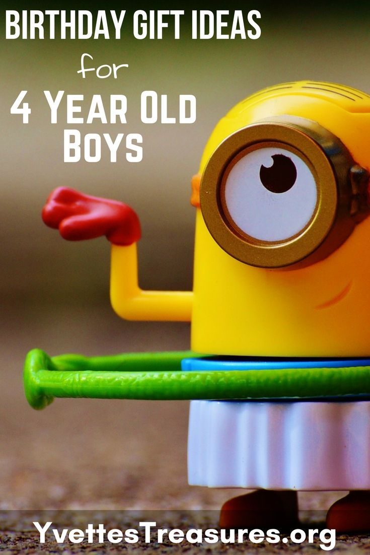 The perfect birthday gift ideas for 4 year old boys.