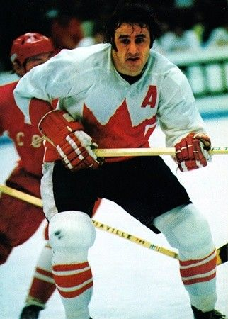Phil Esposito '72Espo became the leader of Team Canada; he played great (when he got into better shape later on in the Series).