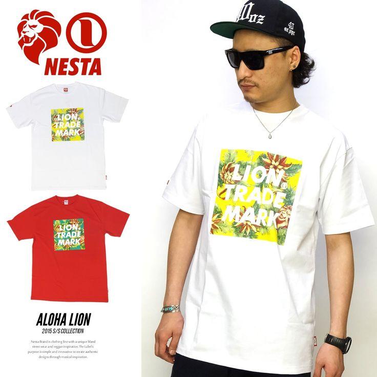 ネスタブランド NESTA BRAND Tシャツ メンズ アロハ柄 ALOHA LIO :5v3232:DEEP B系・ストリートファッション - 通販 - Yahoo!ショッピング