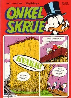 """""""Onkel Skrue nr.11 1984"""" av Walt Disney"""