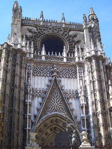 Puerta de san crist bal catedral de sevilla sevilla - Puertas uniarte sevilla ...